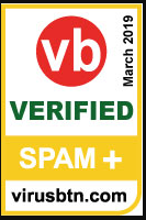 ESET is awarded first place in VB Spam Email Security Comparative Review