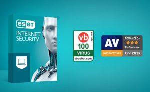 5f0f13dc646 ESET Internet Security't tunnustati AV Comparatives ja Virus Bulletin'i  auhindadega