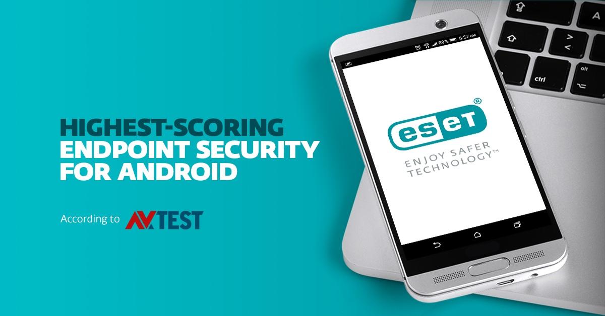ESET Endpoint Security для Android, корпоративная версия  для защиты мобильных устройств, получила САМЫЕ ВЫСОКИЕ оценки от тестовой лаборатории AV-TEST
