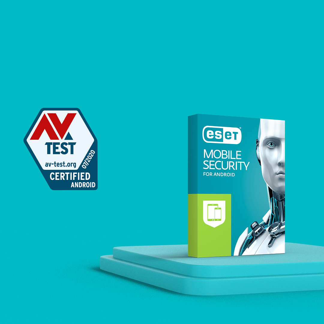 "ESET Mobile Security recognized with a top score in AV-Test ""best antivirus software for Android"""