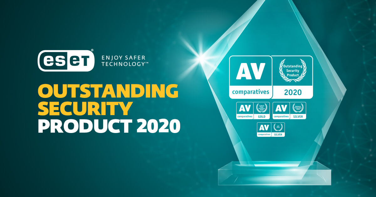 ESET Internet Security recognized with Outstanding Product Award by AV-Comparatives